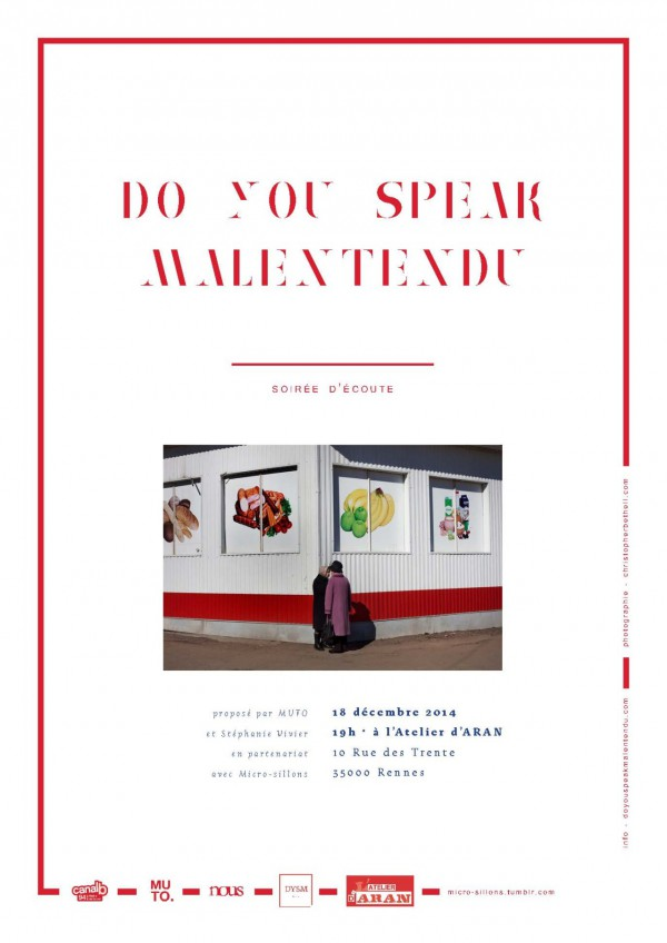 Do You Speak Malentendu - séance d'écoute