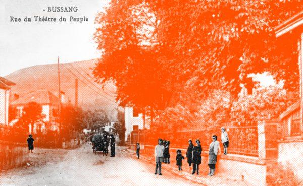 rue du theatre du peuple bussang