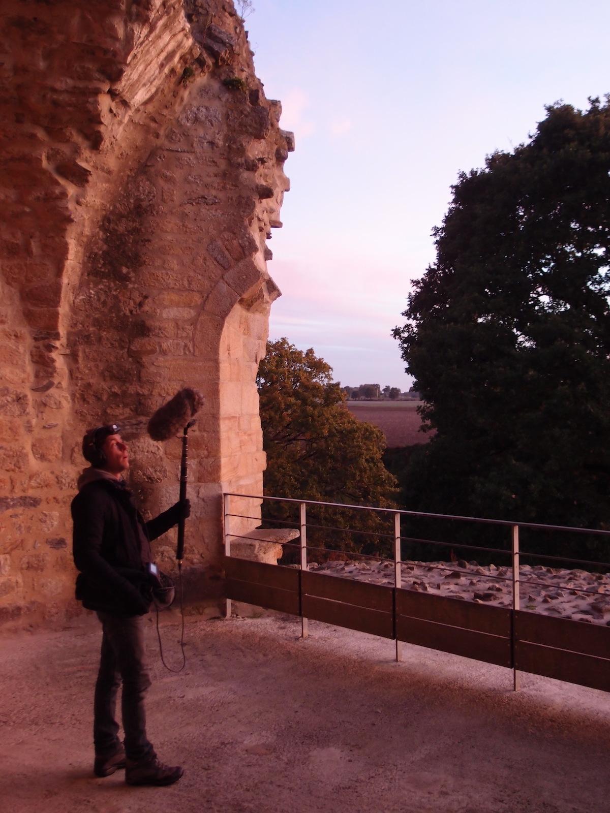 tournage automne 2018 - tour de la Chapelle