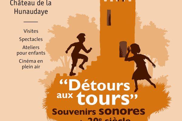 Détours au tours - Château de la Hunaudaye