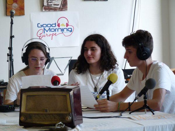 Good Morning Europe au lycée Paul Sérusier - Carhaix